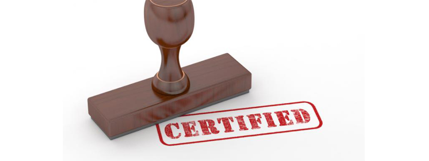la Certification ISO